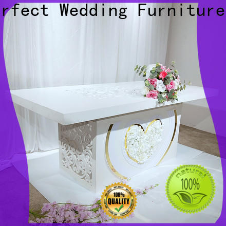 Perfect Wedding Furniture Top bridal table decorations manufacturers for wedding ceremony