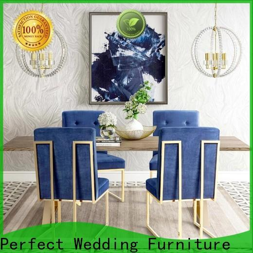 Perfect Wedding Furniture stainless queen chair Supply for wedding ceremony