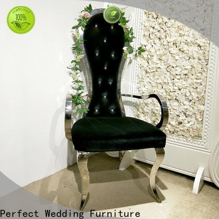 Custom wedding throne chair leisurely for business for wedding ceremony