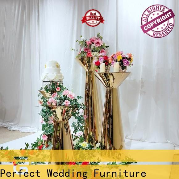 Perfect Wedding Furniture Top wedding flower stand factory for wedding ceremony