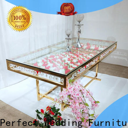 Perfect Wedding Furniture Latest unique wedding table centerpieces manufacturers for hotel