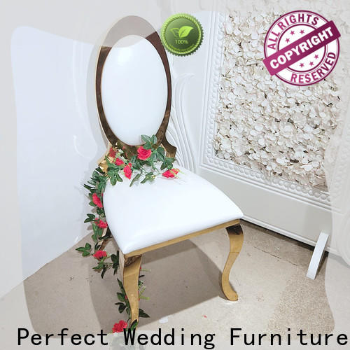 Perfect Wedding Furniture gold gold wedding chairs company for hotel