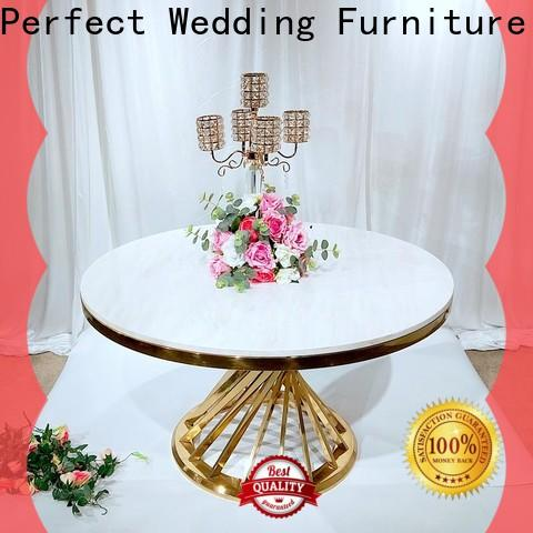 Perfect Wedding Furniture gold beautiful wedding table settings Supply for hotel