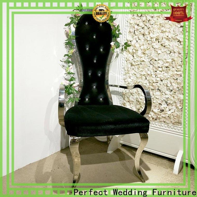 Perfect Wedding Furniture Latest king and queen throne chairs Suppliers for hotel