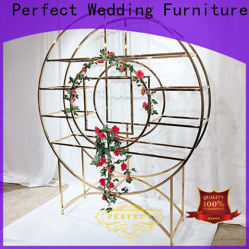 Perfect Wedding Furniture steel decorative metal wall shelf Supply for hotel