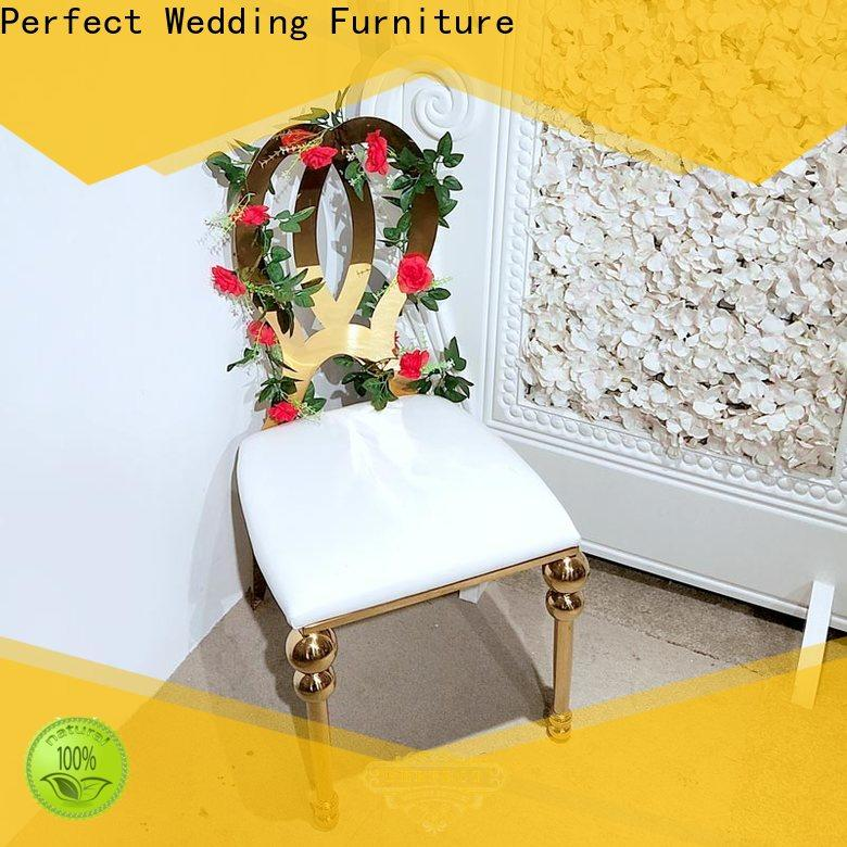 Perfect Wedding Furniture gold wedding chair for business for hotel