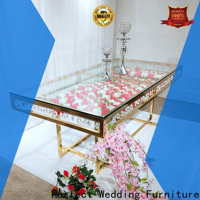 Perfect Wedding Furniture stainless wedding party table centerpieces for business for dining room