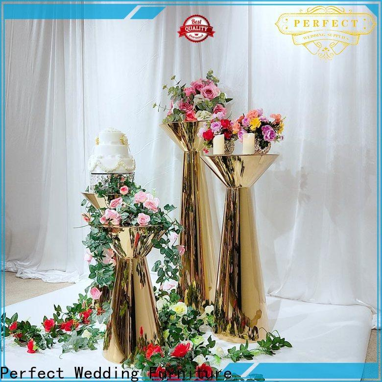 Perfect Wedding Furniture pedestal floral stand manufacturers for home