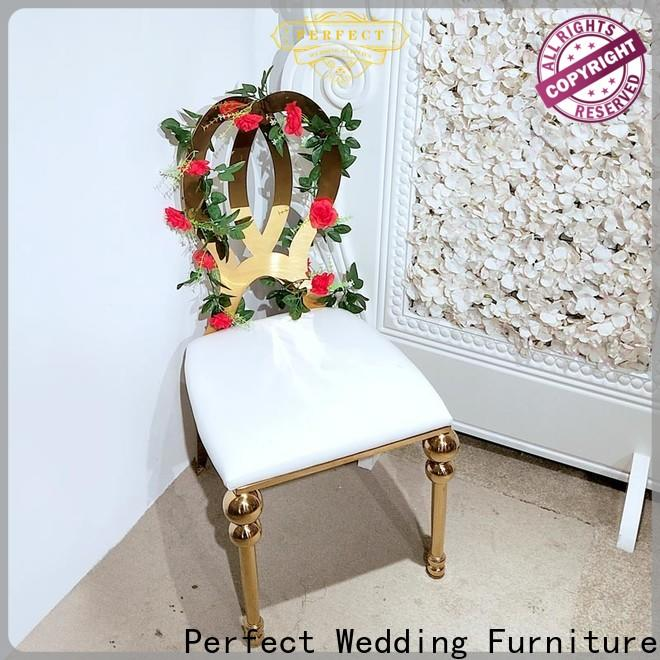 Perfect Wedding Furniture laser wedding reception chairs factory for hotel