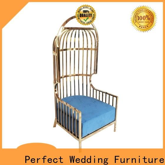 Perfect Wedding Furniture chair queen chair Supply for hotel