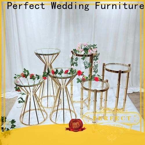 Perfect Wedding Furniture stand floral stand company for hotel
