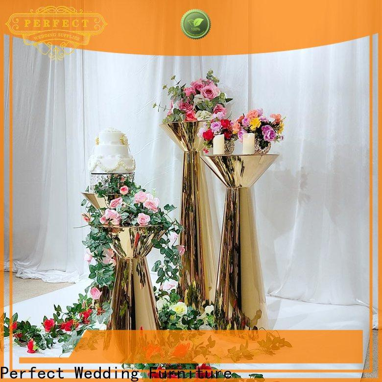 Perfect Wedding Furniture beautiful metal flower stand manufacturers for hotel
