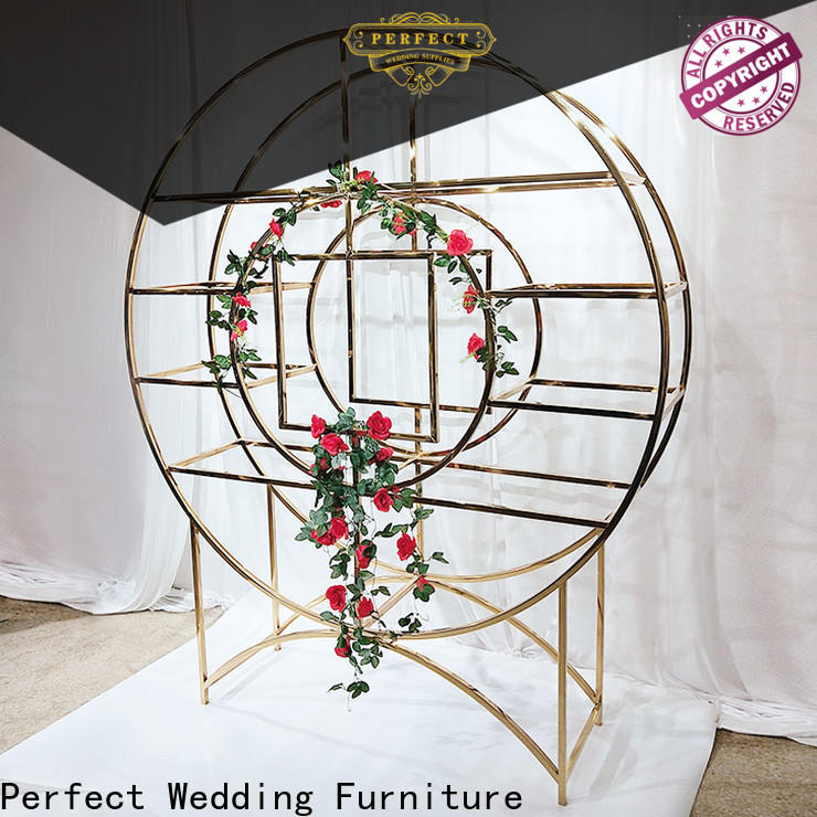 Perfect Wedding Furniture shelves circle shelf Supply for indoors