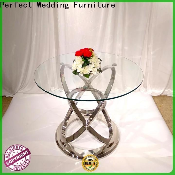 Perfect Wedding Furniture black table setting for wedding reception Supply for dining room