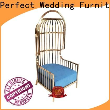 Perfect Wedding Furniture leisurely king and queen chairs company for hotel