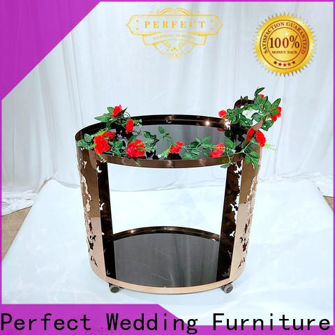 Perfect Wedding Furniture online rolling bar cart factory for home