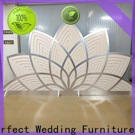 Latest decorative room dividers screen company for wedding ceremony