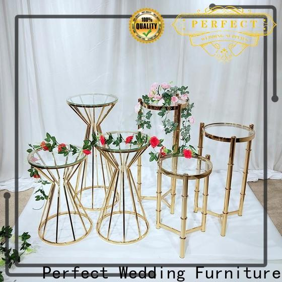 Perfect Wedding Furniture Best metal flower stand Supply for home