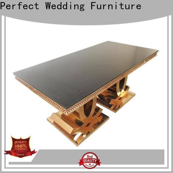 Perfect Wedding Furniture Latest wedding reception floral table decorations Suppliers for hotel