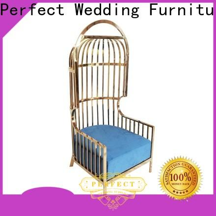 Perfect Wedding Furniture Custom queen throne chair company for hotel