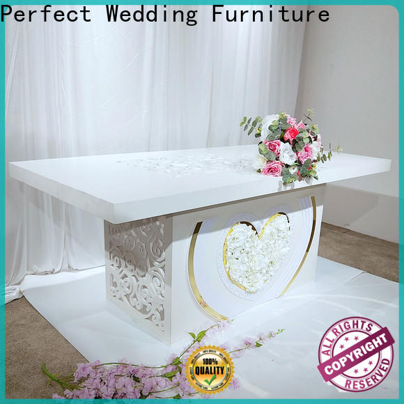 Perfect Wedding Furniture Latest wedding breakfast table decorations company for dining room