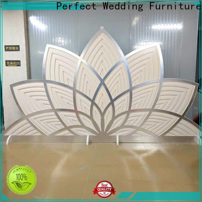 Perfect Wedding Furniture gold decorative room dividers manufacturers for wedding ceremony