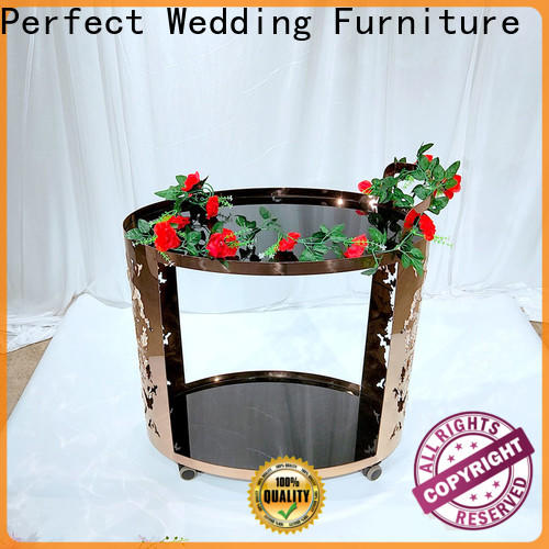 Perfect Wedding Furniture Latest rolling bar cart Supply for home