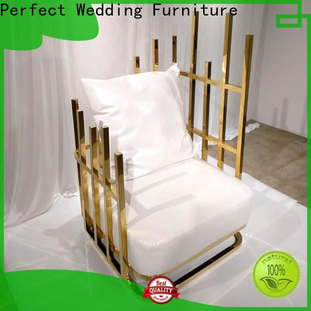 Perfect Wedding Furniture Best queen throne chair Supply for hotel