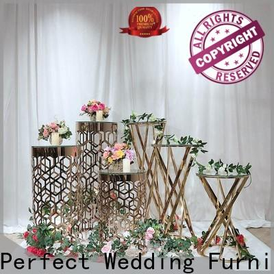 Perfect Wedding Furniture Latest flower stand factory for home