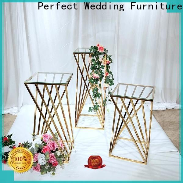 Perfect Wedding Furniture Latest floral stand manufacturers for hotel
