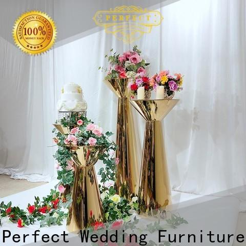 Custom floral stand glass Supply for hotel