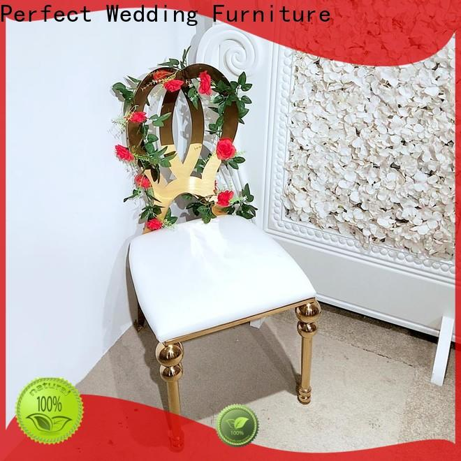 Perfect Wedding Furniture Latest wedding reception chairs Supply for wedding ceremony