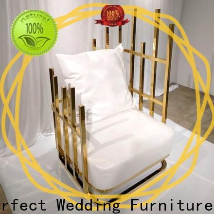 Perfect Wedding Furniture throne king and queen throne chairs Supply for hotel
