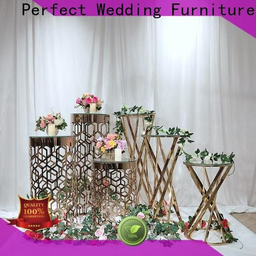 Perfect Wedding Furniture glass flower stands for wedding aisle manufacturers for wedding ceremony