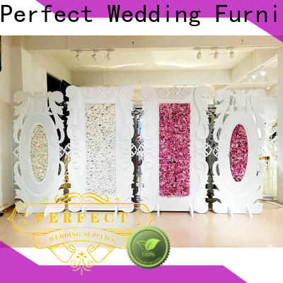 Perfect Wedding Furniture High-quality wedding screen partition Suppliers for wedding ceremony