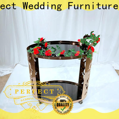 Perfect Wedding Furniture Best rolling bar cart company for wedding ceremony