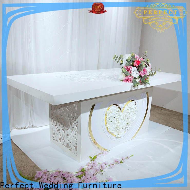 Perfect Wedding Furniture glass inexpensive table decorations for wedding receptions Supply for dining room
