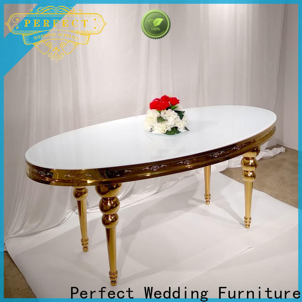 Perfect Wedding Furniture big glass tables for wedding reception manufacturers for hotel