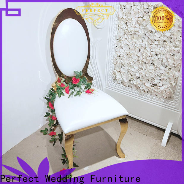 Perfect Wedding Furniture Custom wedding chairs for bride and groom company for hotel