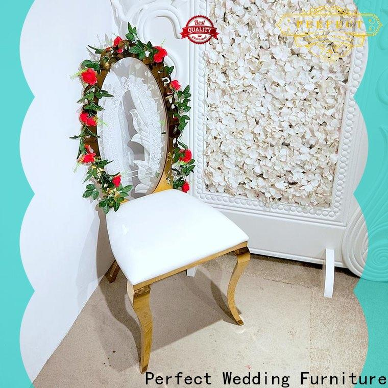 Top gold wedding chairs laser manufacturers for hotel