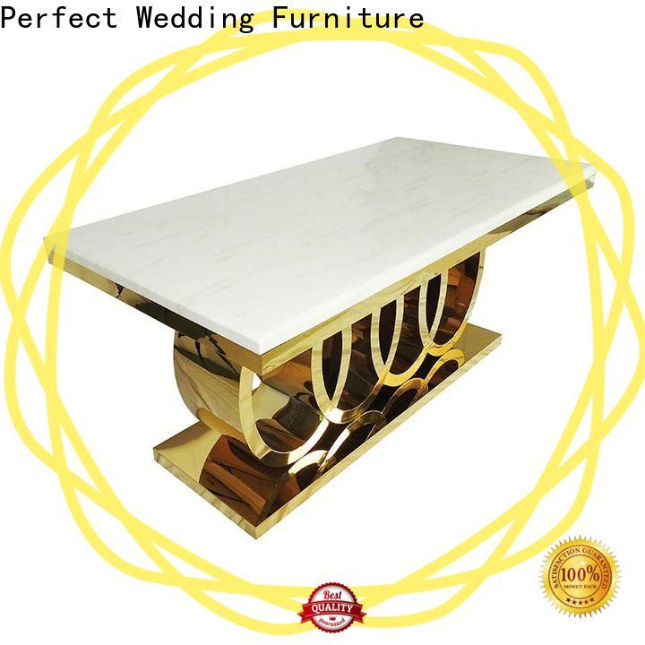 Perfect Wedding Furniture rectangle examples of wedding table decorations Supply for hotel