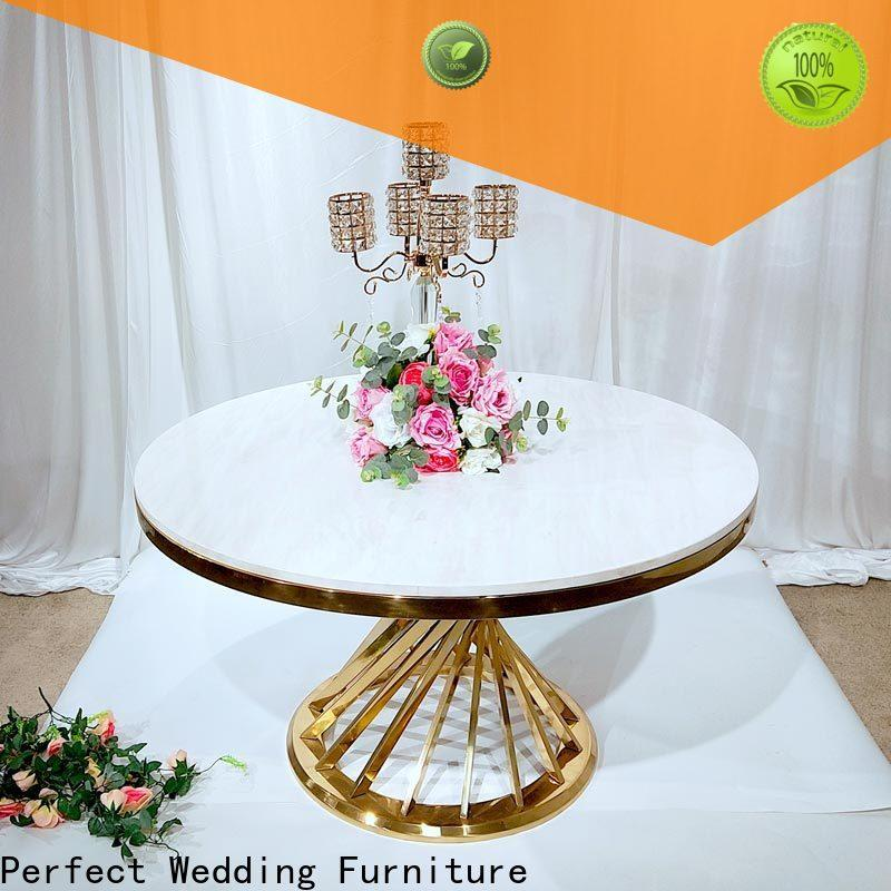 Perfect Wedding Furniture round top wedding decorations Supply for hotel