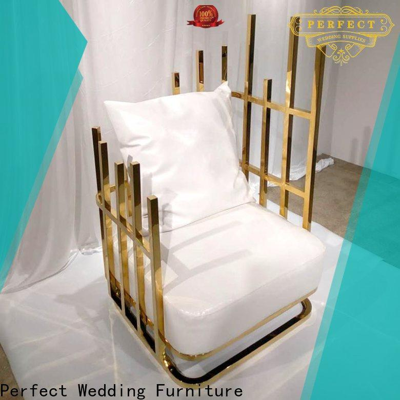 Perfect Wedding Furniture nice royal throne chair factory for hotel