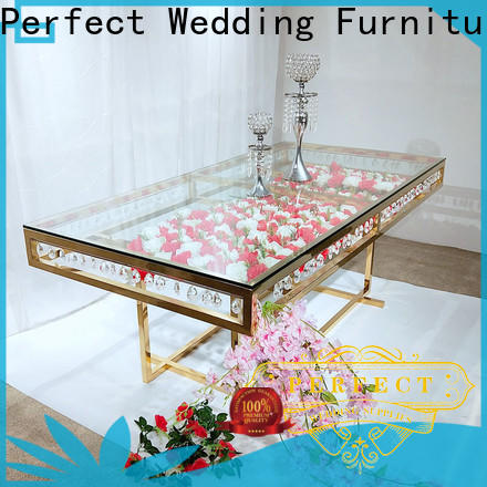 Perfect Wedding Furniture Top wedding banquet table decorations Supply for dining room