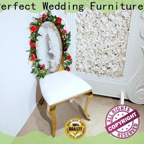 Perfect Wedding Furniture High-quality gold wedding chairs factory for hotel