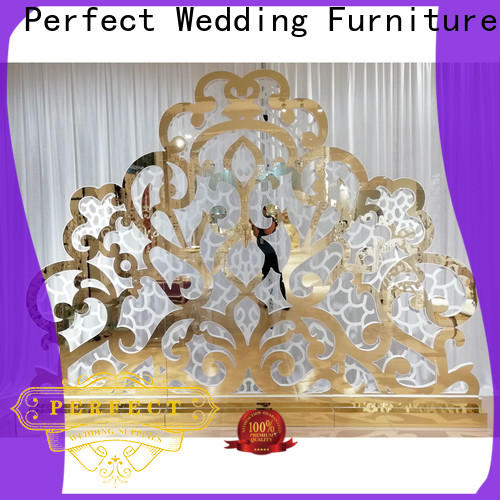 Perfect Wedding Furniture sliver decorative room dividers factory for wedding ceremony