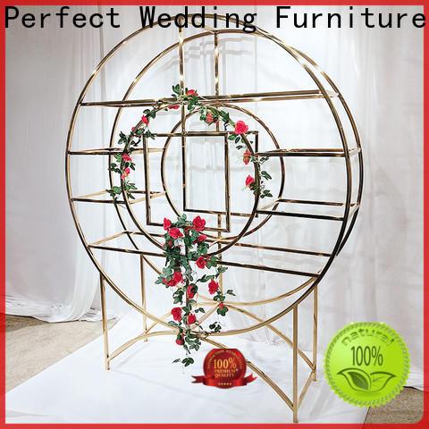 Perfect Wedding Furniture Custom decorative shelves factory for wedding ceremony