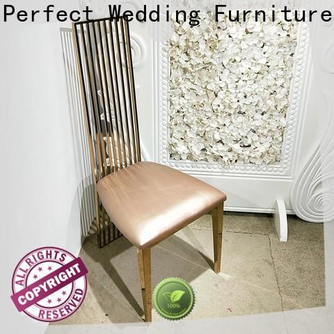 Perfect Wedding Furniture Latest gold wedding chairs company for hotel