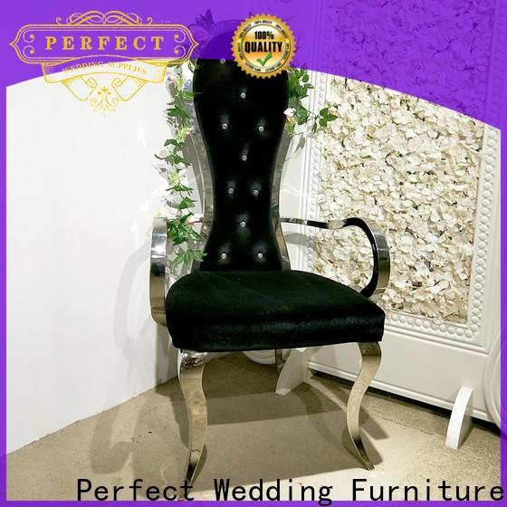 Perfect Wedding Furniture chair queen chair Suppliers for hotel