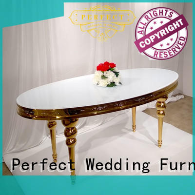 Perfect Wedding Furniture marble wedding table design manufacturer for wedding ceremony